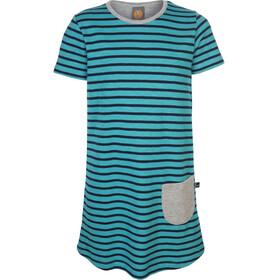 Elkline Ententanz Dress Girls Bluebird-Blueshadow